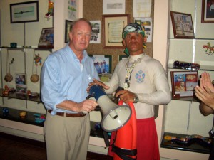 Donation of Ocean Rescue Equipment