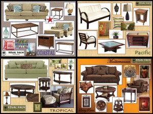A selection of furniture packages