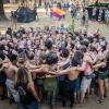 RonWorobec_Group-Hug-In-Crowd